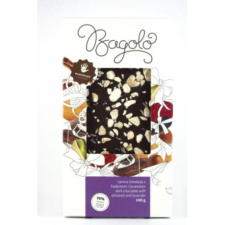 Tamna čokolada s lavandom i bademom